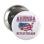 """Arizona - America 2.25"""" Button"""