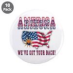 "Arizona - America 3.5"" Button (10 pack)"