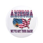 "Arizona - America 3.5"" Button"