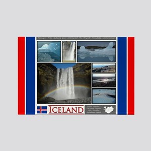 Iceland Red 5 copy Magnets