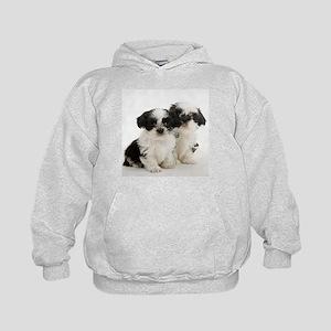Shih Tzu Puppy Kids Hoodie