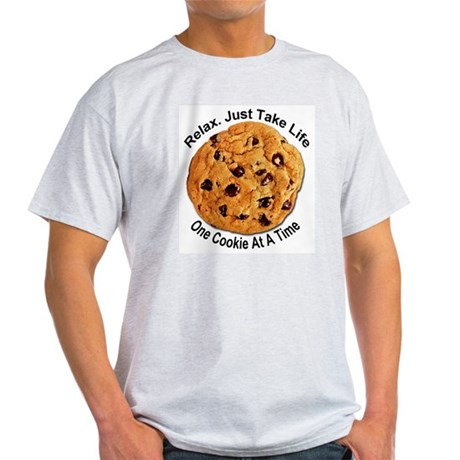 """One Cookie"" Ash Grey T-Shirt"