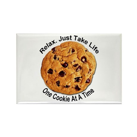 """""""One Cookie"""" Rectangle Magnet"""
