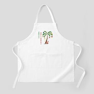 Holiday Palm Tree Apron