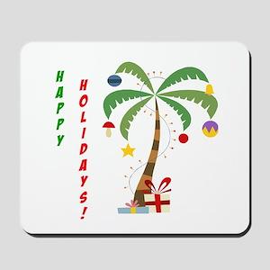Holiday Palm Tree Mousepad