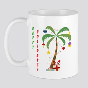 Holiday Palm Tree Mug