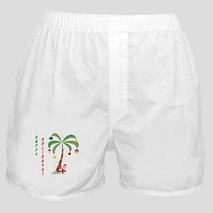 Holiday Palm Tree Boxer Shorts