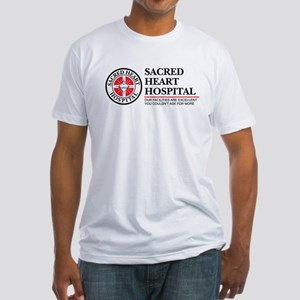 Sacred Heart Hospital Fitted T-Shirt