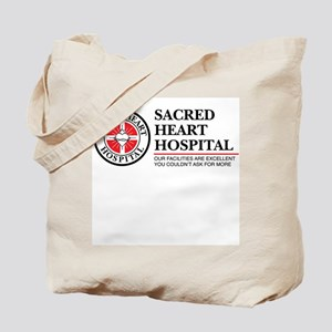 Sacred Heart Hospital Tote Bag