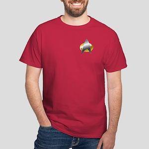 Star Trek Combadge (2360s) Dark T-Shirt