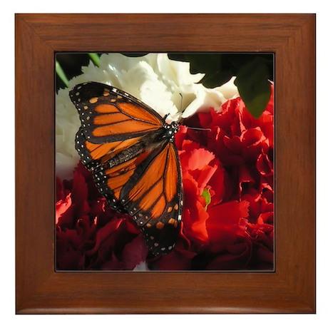Monarch Framed Tile