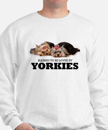 Blessed By Yorkies Sweatshirt