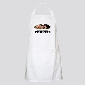 Blessed By Yorkies Apron