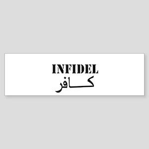 Infidel Sticker (Bumper)