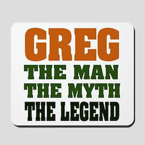 GREG - The Legend Mousepad