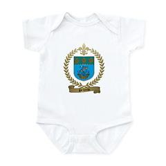 PELLERIN Family Crest Infant Creeper