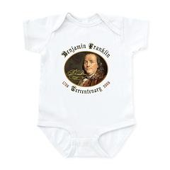 Benjamin Franklin Tercentenary Infant Creeper