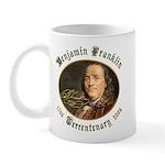 Benjamin Franklin Tercentenary Mug