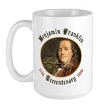 Benjamin Franklin Tercentenary Large Mug