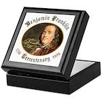 Benjamin Franklin Tercentenary Keepsake Box