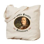 Benjamin Franklin Tercentenary Tote Bag