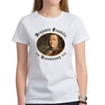 Benjamin Franklin Tercentenary Women's T-Shirt