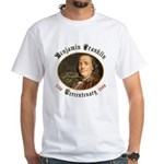 Benjamin Franklin Tercentenary White T-Shirt