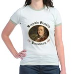 Benjamin Franklin Tercentenary Jr. Ringer T-Shirt
