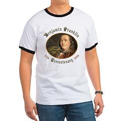 Benjamin Franklin Tercentenary T