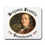 Benjamin Franklin Tercentenary Mousepad