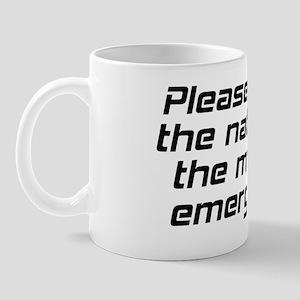 Star Trek: The Doctor Mug