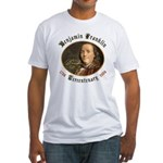 Benjamin Franklin Tercentenary Fitted T-Shirt