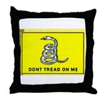 Gadsden Flag Throw Pillow