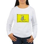Gadsden Flag Women's Long Sleeve T-Shirt