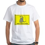 Gadsden Flag White T-Shirt