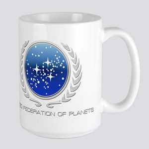 United Federation of Planets Large Mug