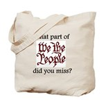 What part of We the People di Tote Bag