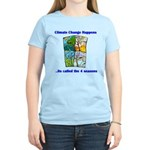 Climate Change Happens Women's Light T-Shirt