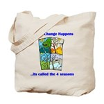 Climate Change Happens Tote Bag