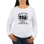 Fleas Women's Long Sleeve T-Shirt