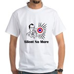 Silent No More White T-Shirt
