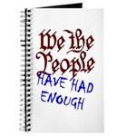 We the People Have Had Enough Journal