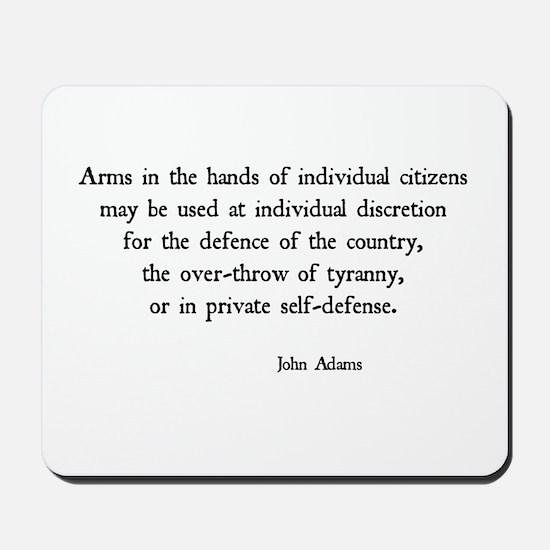 John Adams Mousepad