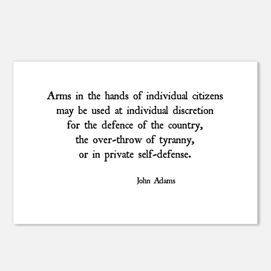 John Adams Postcards (Package of 8)