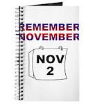 Remember November Journal