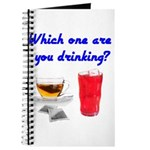 Which one are you drinking? Journal