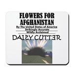 Flowers for Afghanistan Mousepad