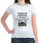 Flowers for Afghanistan Jr. Ringer T-Shirt
