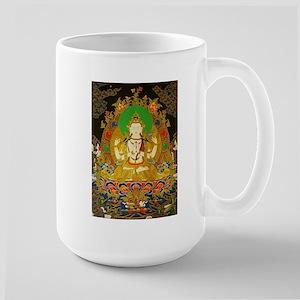 Large Mug w/Chenrizig Thangka art