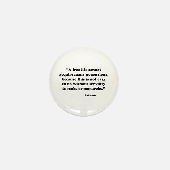 Epicurus Mini Button